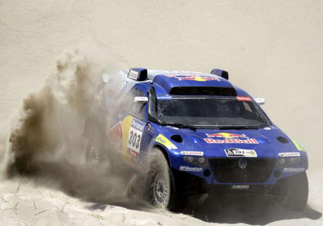 Carlos Sainz es el nuevo puntero de la categoria autos tras la quinta etapa del Rally Dakar