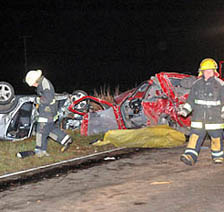 ACCIDENTE FATAL EN PERGAMINO
