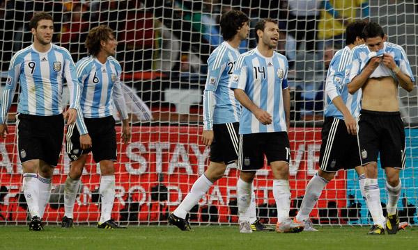 MUNDIAL 2010: ARGENTINA ELIMINADA