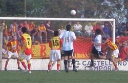 7 LIGAS: BARRACAS 1-0 ARGENTINO