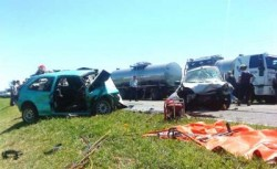FATAL ACCIDENTE EN RUTA 7