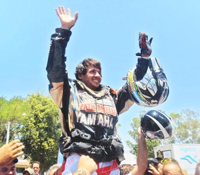 RALLY DAKAR 2011: CHAGIN EN LOS CAMIONES