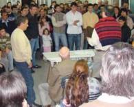 M. CASO SE REUNIO CON COLABORADORES