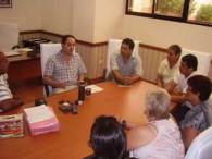 CASO SE REUNIO CON TRABAJADORES MUNICIPALES