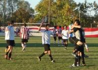 FUTBOL: EL HURACAN 1-0 BOCA Jrs.