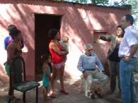 Martín Caso visitó La Beba