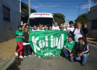 KOLINA Rojas estuvo colaborando en La Plata