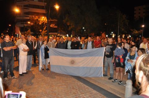 Muchos argentinos salieron a las calles