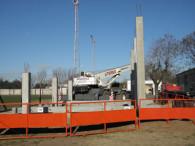Jorge Newbery construye su nueva platea