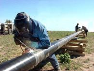 Trabajan por el gas en Rafael Obligado