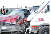 Un muerto en un choque frontal en la Ruta 188