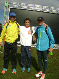 Leonardo Liberatore corrió el mundial de atletismo