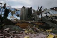 La tormenta provocó destrozos en Chivilcoy