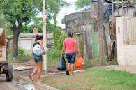 Pergamino: familias regresan a sus casas