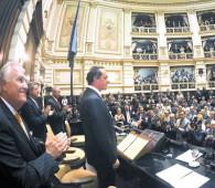 Scioli abrió el nuevo período legislativo