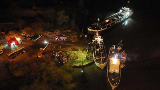 Dos muertos por explosión de barco carguero en Zárate