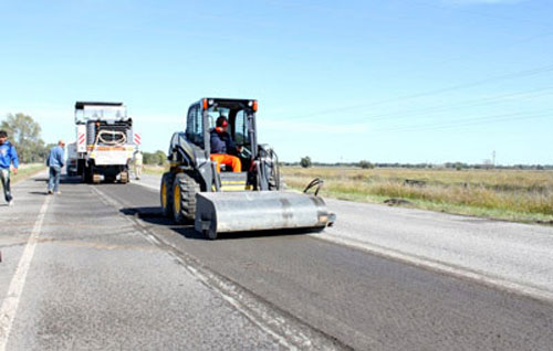Vialidad Provincial puso en marcha los trabajos para refaccionar distintas zonas de la ruta Nº 51
