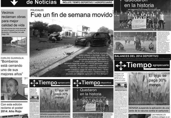 Tapas Tiempo de Noticias