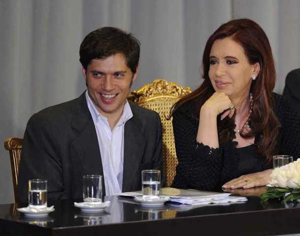 Cristina defendió la gestión de Kicillof