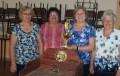 Hubo torneo de sapo con participación de adultos mayores