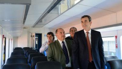 Randazzo presentó nuevo tren hasta Capilla del Señor con formaciones 0km nacionales