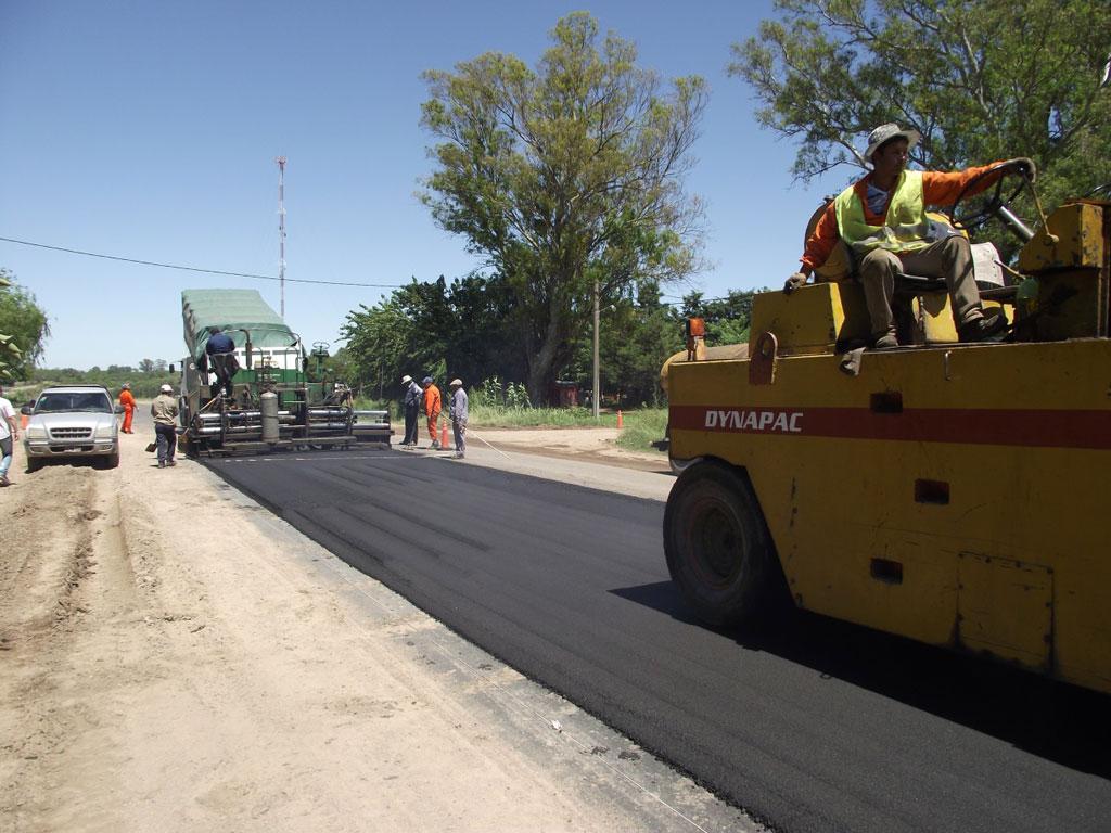 Ramallo: Comenzó la repavimentación de la Ruta 51