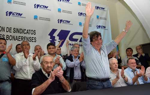 El 'Cholo' García fue reelecto al frente del gremio de los Municipales Argentinos