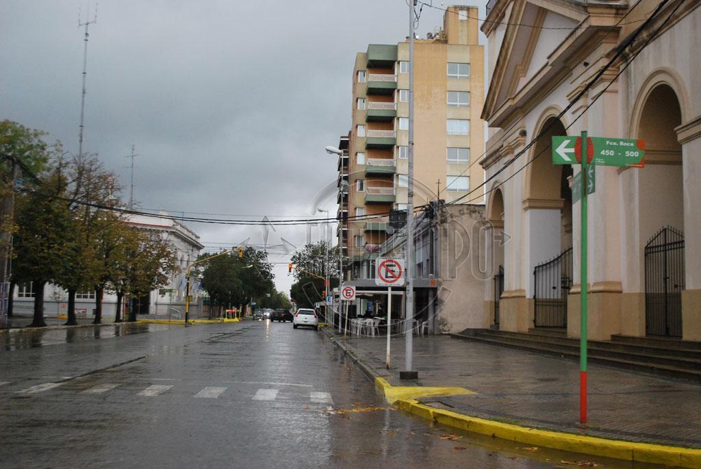 Defensa Civil de Rojas informa sobre el alerta del Servicio Meteorológico Nacional
