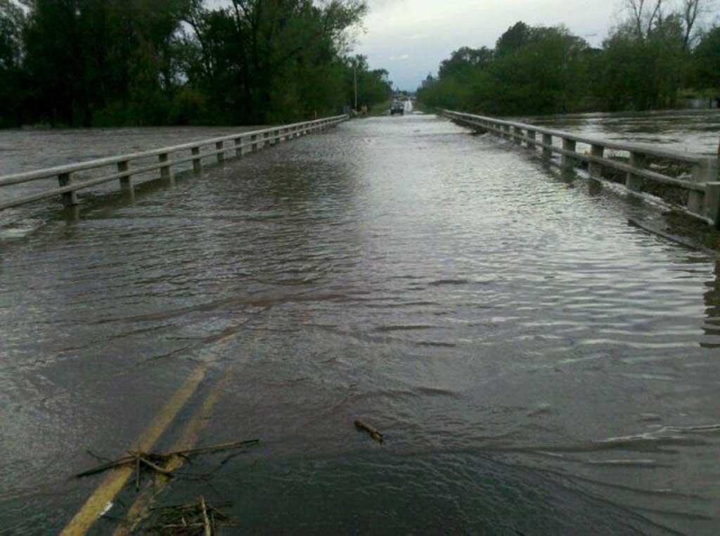 Continúan los cortes en las rutas por las intensas lluvias