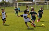 Se desarrolló un encuentro de escuelitas de fútbol en Boca Jrs.