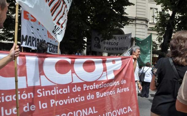 Médicos de Cicop comenzaron un paro de 48 horas en reclamo salarial