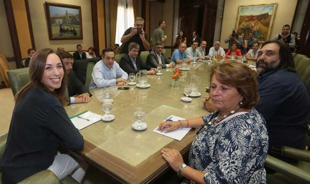 Vidal convocó una nueva reunión paritaria