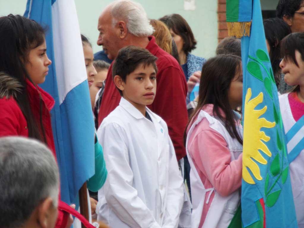Programa del Acto Oficial por el Día de la Bandera