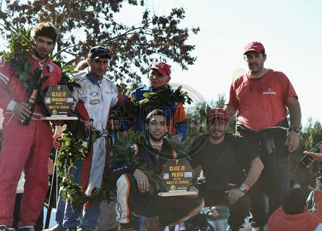 Rally Santafesino: Federico Zabala coronó una tarea brillante