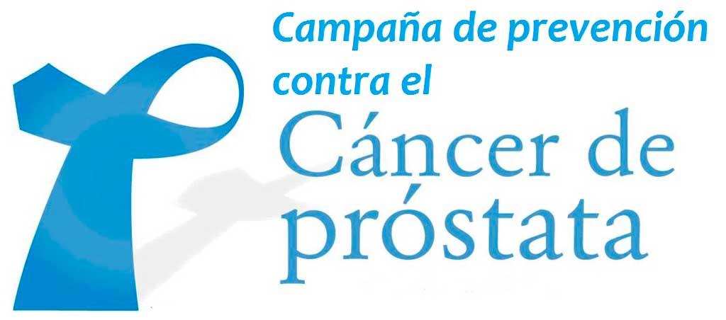 Campaña de prevención de cancer de próstata