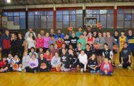Argentino de Junín dictó una clínica de básquet en Sportivo
