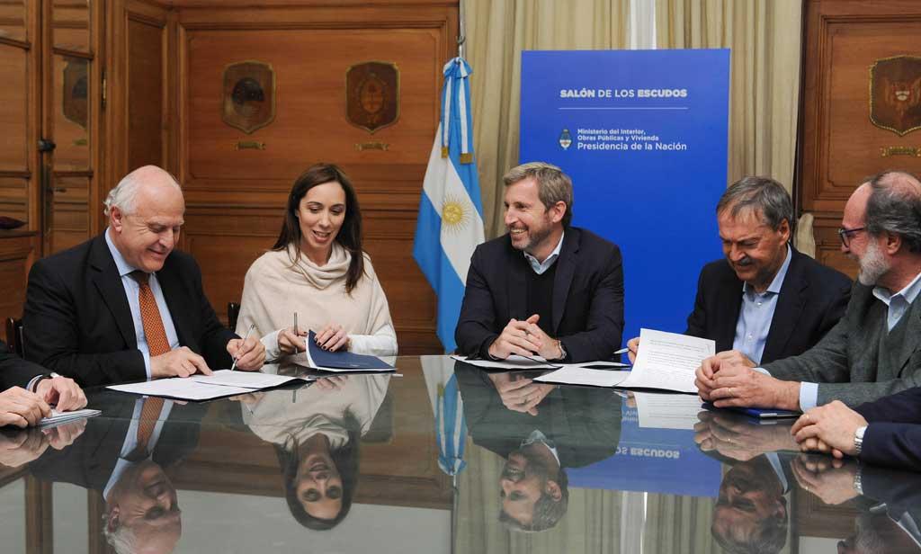Nación lanzó los Comités de Cuenca de la laguna La Picasa y el río Carcarañá