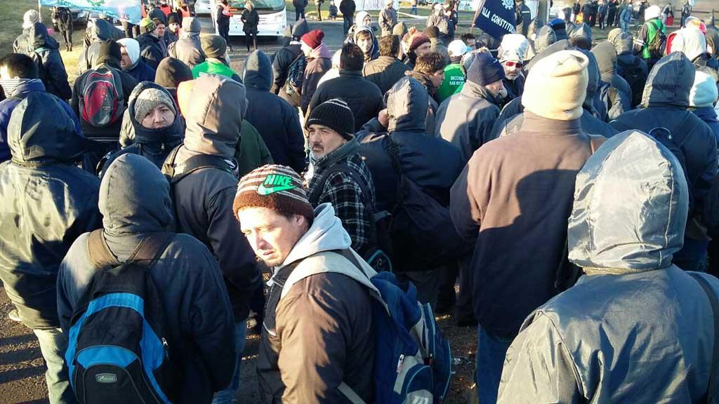 Metalúrgicos, con protestas en varios puntos del corredor norte