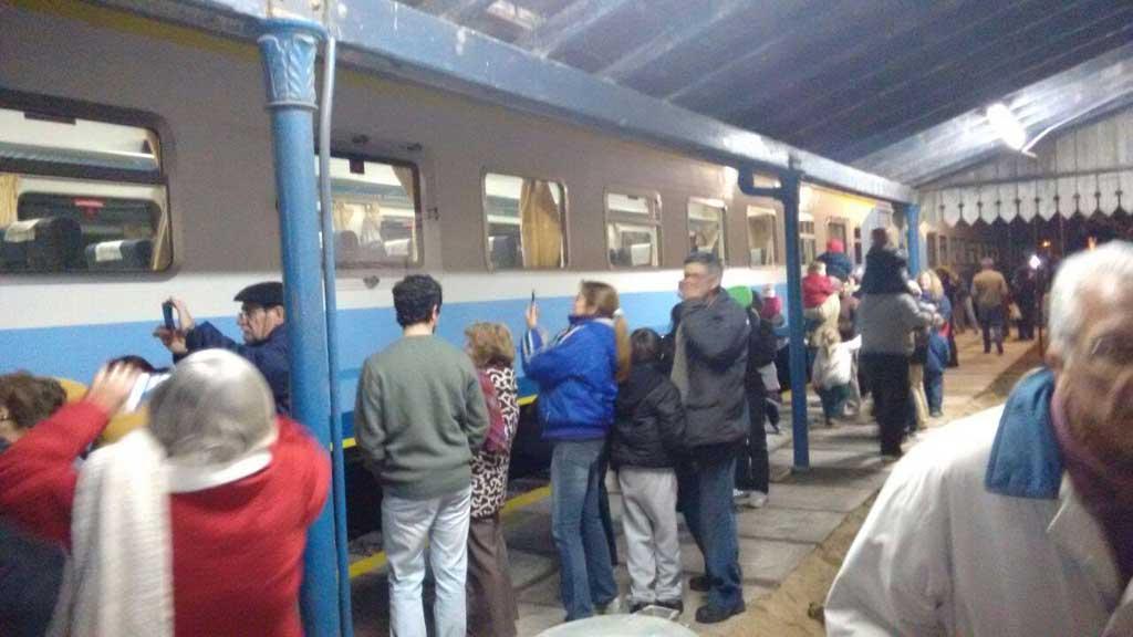 El tren volvió a parar en San Pedro