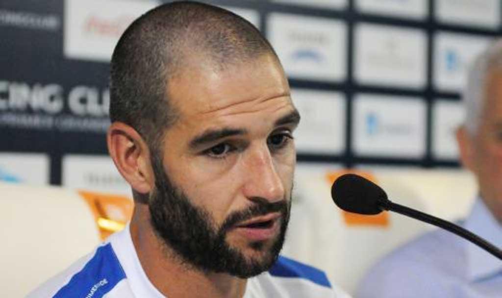 Lisandro López participó por primera vez de un ensayo de fútbol