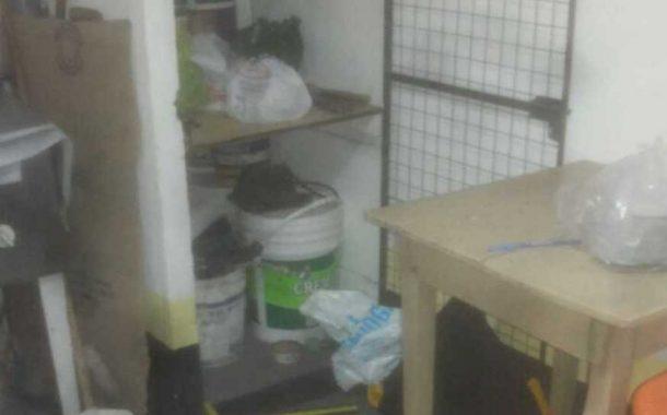 Roban y provocan destrozos en la sede de las escuelitas de El Huracán