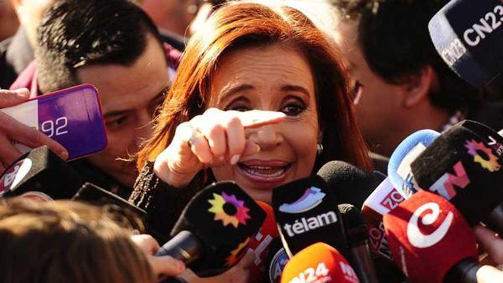 Cristina afirma que el Gobierno