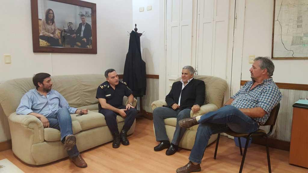 Fabio Dafouz fue designado Jefe de la Unidad de Policía Local de Rojas