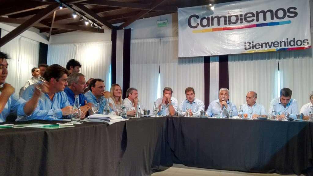 Rossi estuvo en el lanzamiento de la mesa seccional de Cambiemos