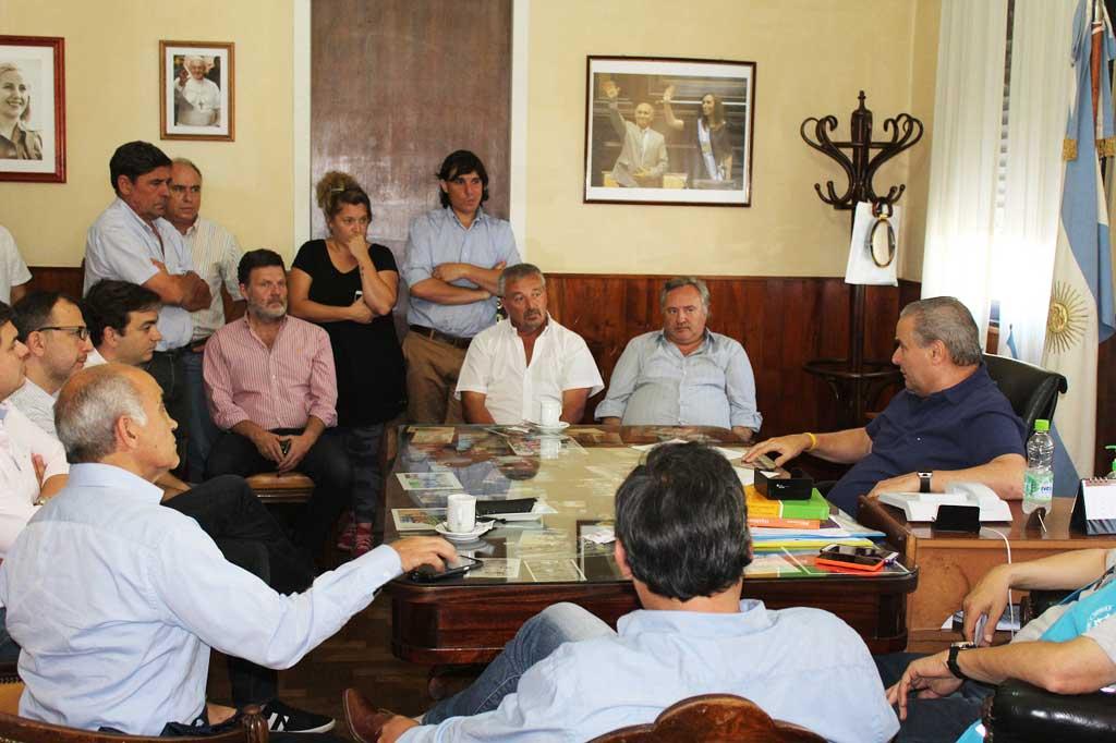 Inundaciones: Rossi se reunió con el vicegobernador Salvador en Salto