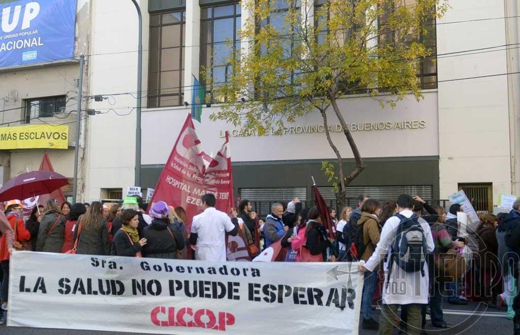 Para Cicop por 48 horas y mañana se suman los judiciales