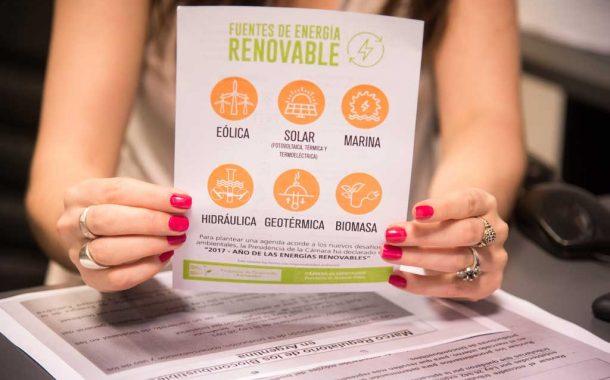 """Declaran el 2017 como """"Año de las Energías Renovables"""""""
