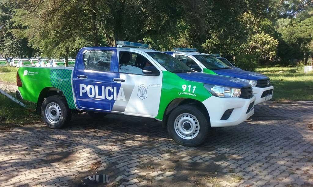 Rojas contará con dos nuevos patrulleros