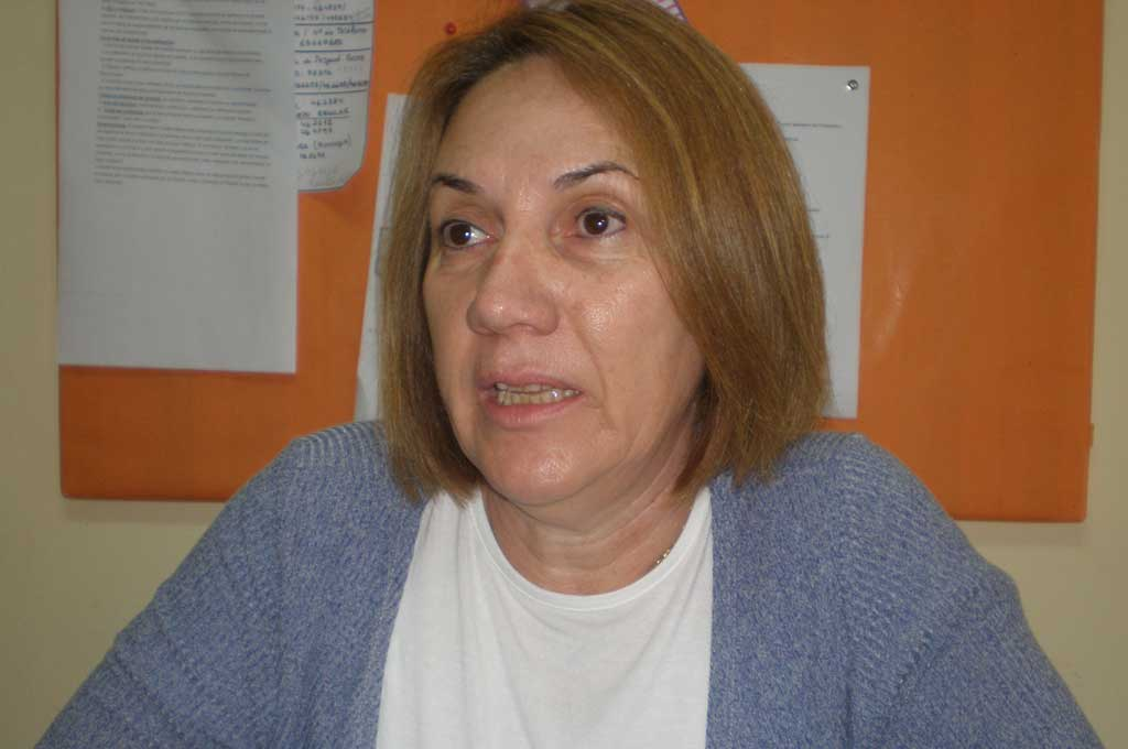 Maria del Rosario Salgado brindó detalles sobre el Plan Fines II