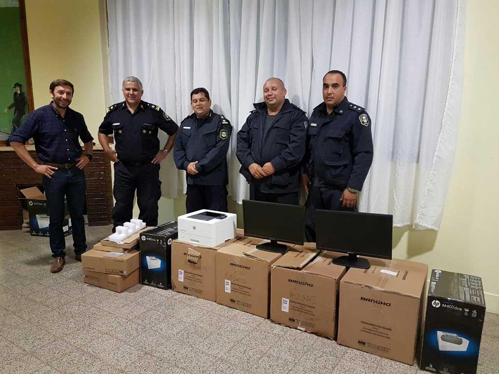 Obligado y Carabelas contarán con mayor cantidad de personal policial